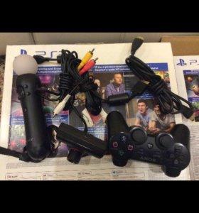 PlayStation 3 Super Slim (500 gb) Полный комплект