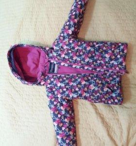 Зимняя куртка Gusti(116+6),штаны в подарок