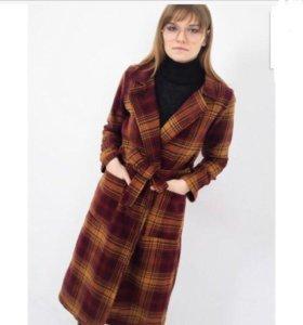 Пальто тёплое шерстяное