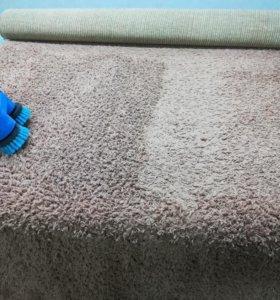 Химчистка мягкой мебели, ковров. Уборка.