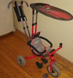 Велосипед коляска