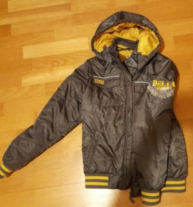 """Серая утепленная куртка на мальчика """"S'COOL"""""""