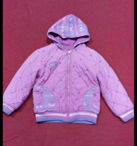 Куртка демисезонная, рост 116-118