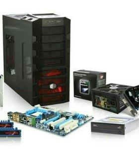 Сборка ремонт компьютеров и ноутбуков