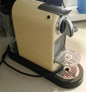 DeLonghi Nespresso + многоразовые капсулы