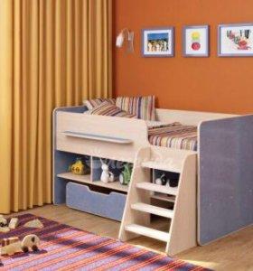 Детская кровать Легенда + матрас