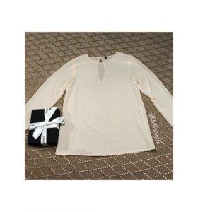 Прозрачная шифоновая блуза Imperial