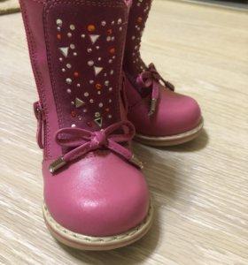 Ботинки на девочку