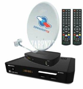 Триколор ТВ комплект на 2 Телевизора