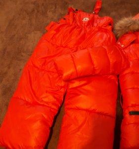 детская куртка и комбинезон moncler