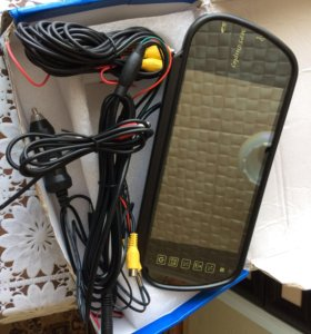 Мультимедийное зеркало монитор 7 дюймов.