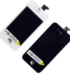 Дисплеи на iPhone 4/4S