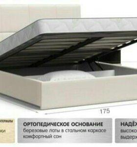 кровать двухспальняя с подъёмным механизмом