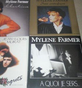 Mylene Farmer. Винил. Пластинки