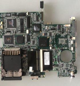 Рабочая материнска плата HP Compaq Armada Е500