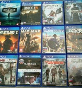 Крутые игры для PS4
