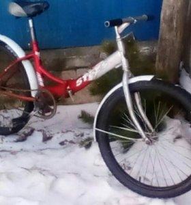 Велосипед стелс 710тый