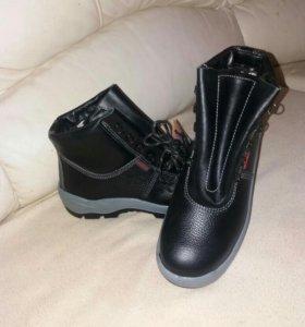 НОВЫЕ!!!Спецобувь ботинки Техноавиа утепленные!!!!