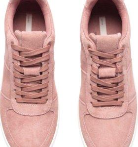 Замшевые кеды/кроссовки H&M