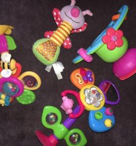 Игрушки на присоске