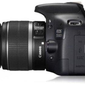Фотоаппарат зеркальный canon d 550