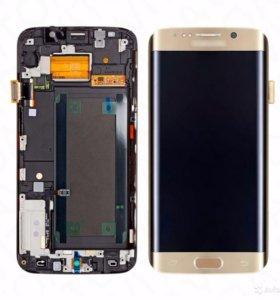 Дисплей в сборе с тачскрином на Samsung s7 edge