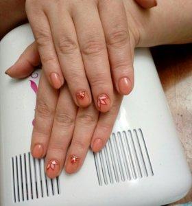 Маникюр, Покрытие ногтей гель лаком💅🔥