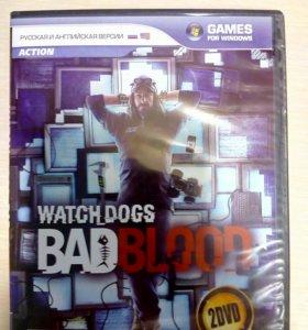 диск для пк .Watch Dogs - Bad Blood