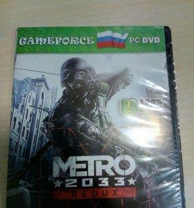 игра для пк. metro 2033 redux