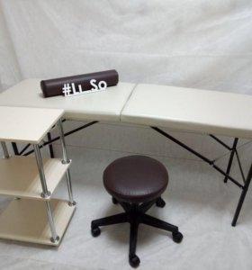 Новая кушетка,массажный стол Арт.90ра14о😎