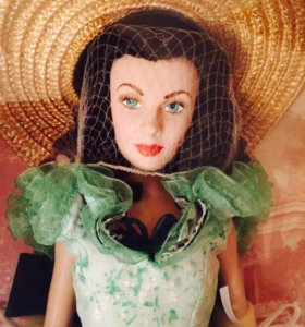 Коллекционная кукла Скарлетт О'Хара