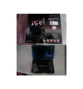 Продам портативный DVD-плеер с ТВ -тюнером