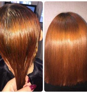 Состав для самостоятельного выпрямления волос