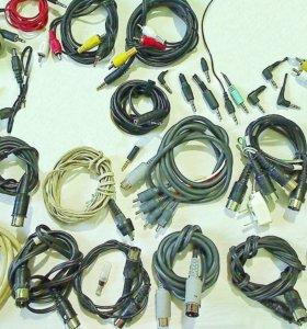 Аудио видео антенны шнуры удлинители штекеры