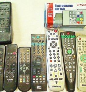 Пульты телевизоров DVD АС музцентров магнитофонов