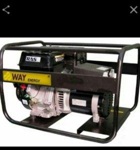 Генератор бензиновый WAY-ENERGY GVI 4600M