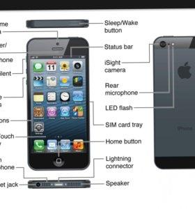 Замена экрана/стекла iPhone 5/5s/6/6s
