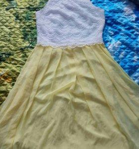 Новое торжественное платье