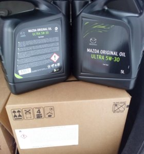 Масло Mazda original oil uitra 5W30 5L(new)