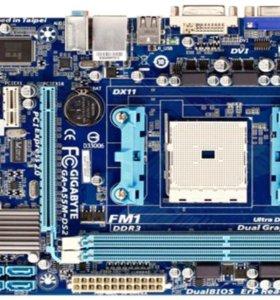 Материнская плата FM1 Gigabyte GA-A55M-DS2 DDR3