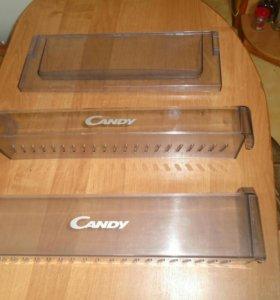 Пластик полки и крышка морозилки холодильник Candy