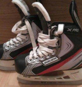 Коньки хоккейные Bauer vapor 5-6 лет