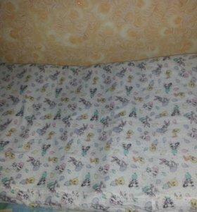 Матрас в детскую кроватку кокосовый