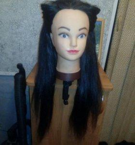 Манекен с волосами