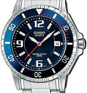 Часы Casio MTD-1053D-2A,новые,оригинал,2 г гар-я