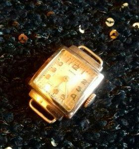 "Золотые часы ""Заря"",Винтажные,Раритет."