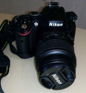 Зеркальный фотоаппарат Nikon D5100 18-55mm VR Kit
