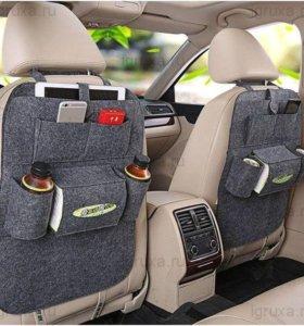 органайзер в машину на спинку сиденья