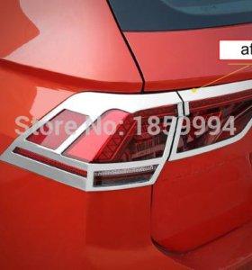 Хромированные накладки на VW Tiguan 2(MQB)