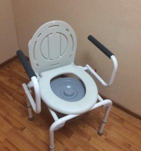 Кресло стул туалет с оснащением санитарным